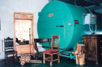 Tratamiento de la madera Autoclave